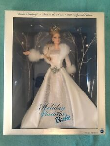 "BARBIE DOLL ""WINTER FANTASY""  HOLIDAY VISIONS. FIRST IN SERIES 2003. NRFB."