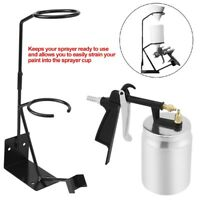 500ML Pneumatic Spray Gun Airbrush Sprayer Painting Tool Spray Gun Stand For Car