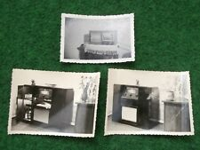 altes Foto Röhrenradio Konvolut 3 Stück
