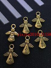 PJ350 15pc Tibetan Gold(The angel)Bead Charms Accessories wholesale