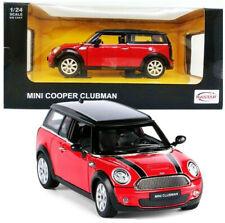 MINI CLUBMAN 1:24 Scale Metal Diecast Toy Car Model Miniature Red