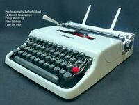 Olivetti Lettera 22 Typewriter WORKING REFURBISHED Vintage 1960s Portable 32