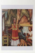 DIEGO RIVERA: PORTRAIT OF FRIDA KAHLO, 1940,  Kunst-Postkarte