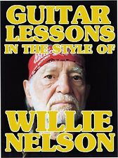 Guitar Lessons In The Style Of Willie Nelson DVD On The Road Again..Many More!