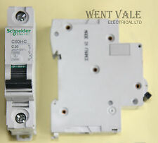 Schneider Multi 9 -  C60HC120 - 20a Type C Single Pole MCB New