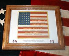 34 Star American Civil War Flag.....100th Ohio Infantry