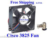 Cisco 3825 Router Fan1, Fan2 Replacement (1 new fan), ACS-3825-FAN-1/2=