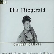 Golden Greats by Ella Fitzgerald (CD, Apr-2003, Disky (Netherlands))