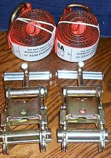Flatbed tow truck 2 ratchet w/finger 2 lasso strap towers EDGE Century wrecker