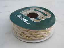 Nastro corda intrecciata per pacchi regalo Natale 5 mt x 0,5 mm col. oro