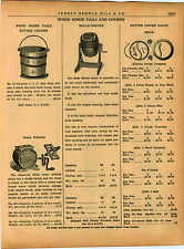 1940 AD Wood Horse Butter Churn Pails Belle Parts Repair Price List