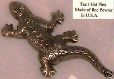 GECKO Fine Pewter Broach, Tie Tac, or hat Pin with gift box by Beverly Heitz NEW