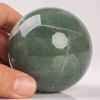 337g 62mm Natural Green Aventurine Sphere Quartz Crystal Healing Ball Chakra