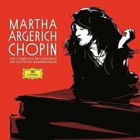 MARTHA/+ ARGERICH - THE COMPLETE RECORDINGS ON DG  5 CD NEU CHOPIN,FREDERIC