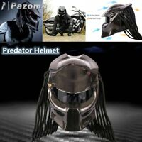 Predator Motorcycle Helmet Full Face Iron Warrior DOT Custom Predator Men Helmet