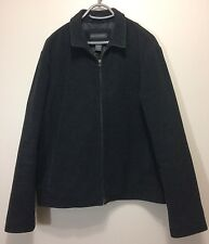Banana Republic Mens Wool Cashmere Blend Classic Jacket Charcoal Gray size Large