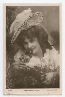 c 1906 Edwardian Victorian Theater MADGE LESSING Beauty British photo postcard