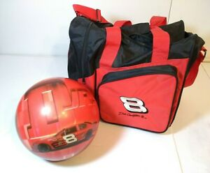 Dale earnhardt Jr. Bowling Ball 12 lbs Drilled with Case