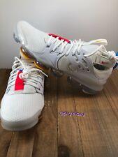 Nike Air Vapormax DSVM Off White Summit Red Orbit Shoes AT8179-100 Men's Sz 10.5