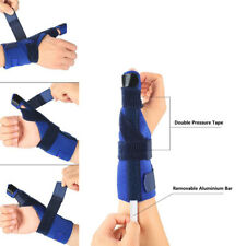 1X Finger Splint Semi-Soft Male Female Universal Adjustable Thumb Spica Splint