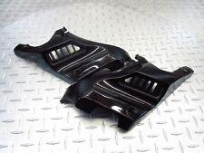 2013 12-15 HYOSUNG GV250 AQUILA GV 250 LT RT FRONT FRAME COVER PANEL TRIM BLACK