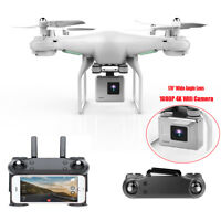 Wide Angle Lens HD 2MP Camera Quadcopter RC Drone WiFi FPV Live Helicopter Hover