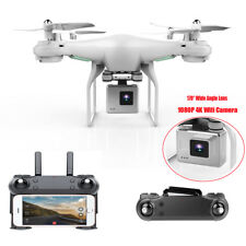 Wide Angle Lens HD Camera Quadcopter RC Drone WiFi FPV Live Helicopter Hover
