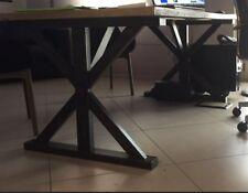 Steel Table Basamento per Tavolo. misure e colore a scelta