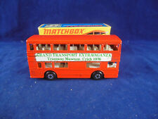 Code 3 Matchbox Superfast MB-17b London Bus The National Tramway Museum Crich