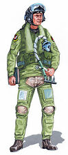 PLUS MODEL AL4064 F-35 Pilot Resin Figur in 1:48