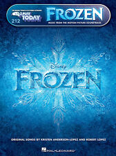 EZ PLAY 212 FROZEN MUSIC FROM THE MOTION PICTURE SONGBOOK for PIANO & KEYBOARD