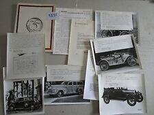 N°9835 / pochette historique OLDSMOBILE 1897-1972