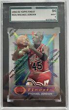 Michael Jordan SGC Graded Mint 9 1994/95 Topps Finest #331 W/Coating poss PSA 10