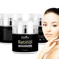 Retinol 2.5% Moisturizer Cream Skin Care Hyaluronic Acid Anti-Wrinkle Vitamin E
