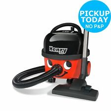 Henry HVR160 Bagged Cylinder 6L 10M Cable HEPA Vacuum Cleaner - Red