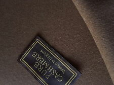 Joshua Ellis Pure Cashmere Camel OverCoat Suit/Jacketing Made in England 2.5MTRS