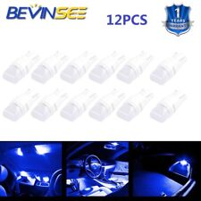 12pcs T10 LED Instrument Panel Light For Mazda 323 626 808 929 Blue 194 168 Bulb