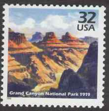 US. 3183h. 32c. Grand Canyon National Park, 1919. Celebrate The Century. MNH