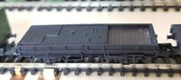 Peco Wagon Kit. Assembled Flat 15ft Wagon with Brick Load. Unpainted, N Gauge.