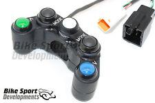 APRILIA RSV4 APRC, 5 Botón Interruptor De Manillar Izquierdo Para bicicletas de pista de carreras o