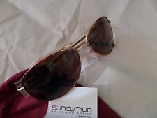 SUNCLOUD Sunglasses PATROL Tortoise&Gold Aviator with dust bag
