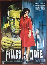 Affiche FILLES DE JOIE Prostitution MARTHA LEGRAND Jorge Mistral 60x80cm *