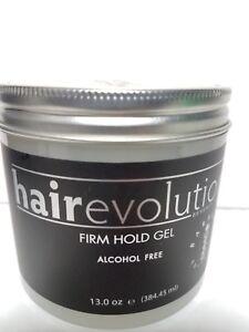 HAIR EVOLUTION FIRM HOLD GEL ALCOHOL FREE NET WT 13 OZ