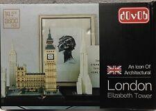 dOvOb Nano Mini Block London Elizabeth Tower Building Set, 3600 Pcs.