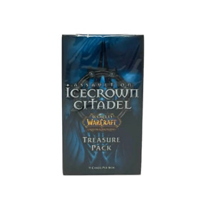 SEALED - One Icecrown Citadel Treasure Pack World of Warcraft TCG WOW Mottled Dr