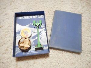 S SCALE AMERICAN FLYER #580 GREEN DOUBLE ARC LIGHT ORIGINAL BOX AUCTION #2