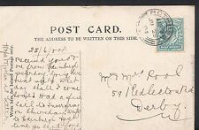 Genealogy Postcard - Ancestor History - Pool - Derby   A9275