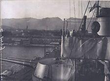 Bateau militaire WW1 Grande Guerre Italie Italia ? Vintage argentique