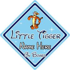 Personalizzata Little Tiger a bordo Cartello Auto – DISNEY WINNIE THE POOH TIGRO
