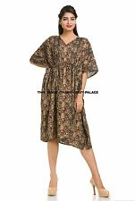 b8f9369b64 Knee Length Dresses Kaftan Beach with Kimono Sleeve